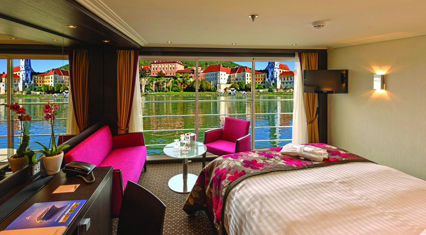 Avalon Waterways French Balcony