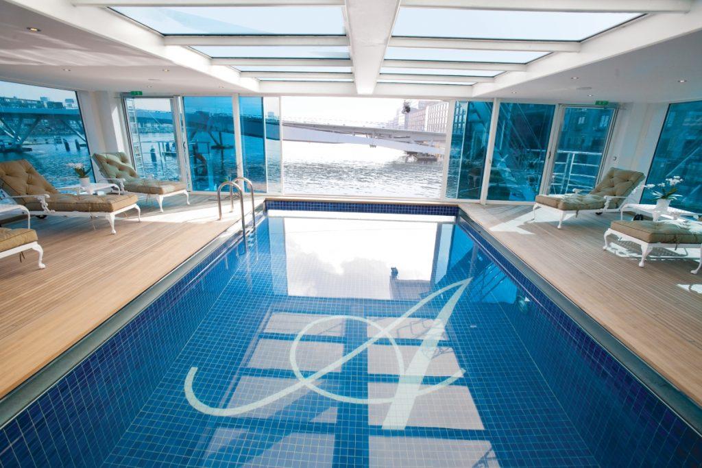 Uniworld SS Antoinette pool