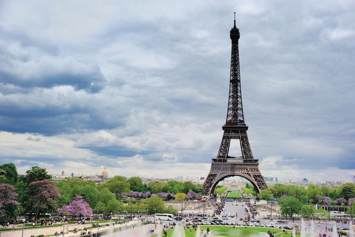 Eiffel Tower in Paris - a river cruise excursion