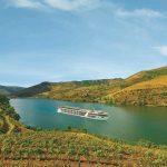 Emerald Waterways' Emerald Radiance cruise ship sailing down the lush Douro