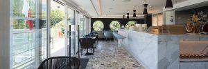 The Blue restaurant on-board Crystal Mozart