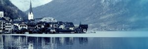 Hallstatt in winter - perfect port stop for a seasonal sailing along the Danube