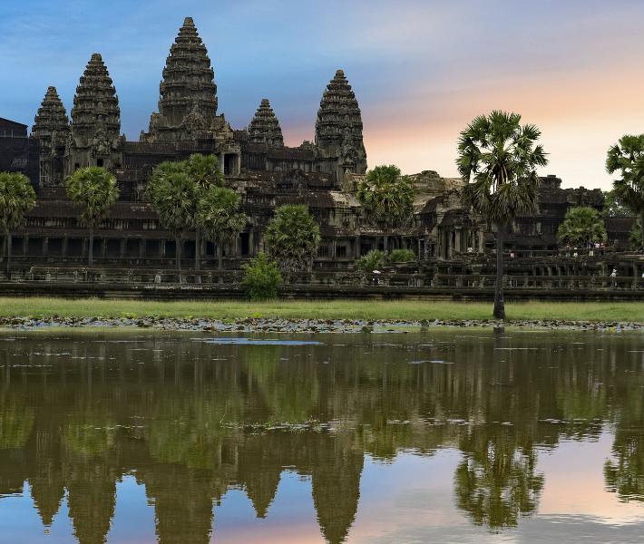 Landmark in Cambodia - Siem Reap is a popular destination