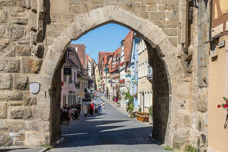 Alleyway in Rotheburg