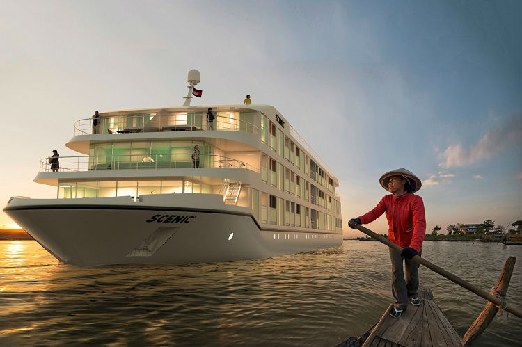 River cruise ship - Scenic Aura