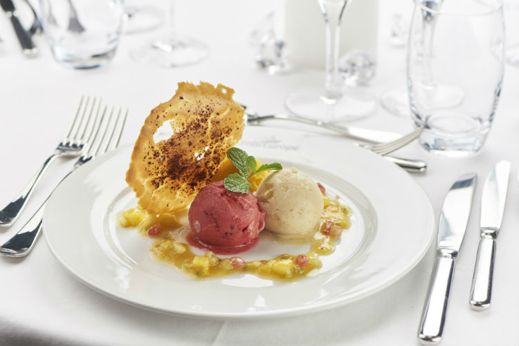 Dessert - MS Loire Princesse Sorbet