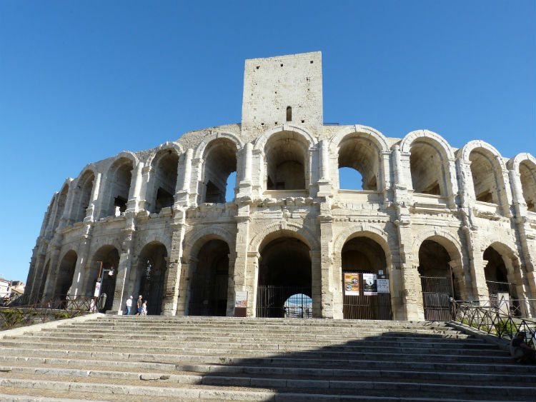 Ampitheatre in Arles, France