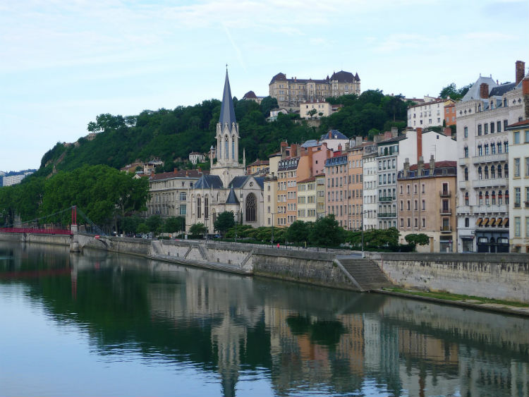 Saone river - Lyon
