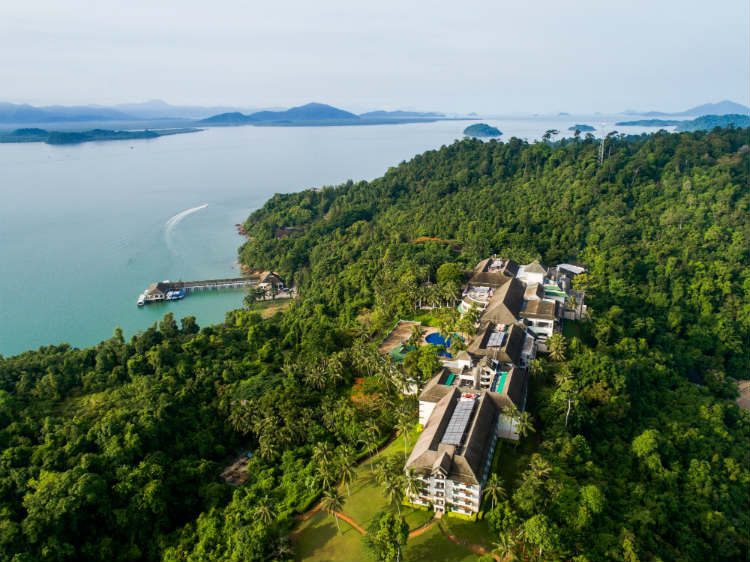 Coastline of Myanmar