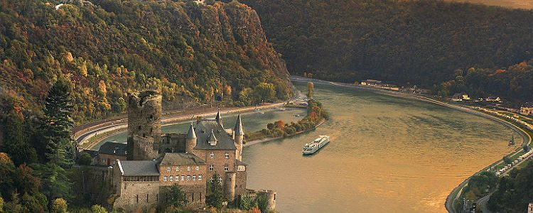 Viking River ship sailing on the Rhine