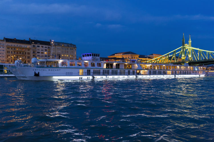 Crystal River cruise ship