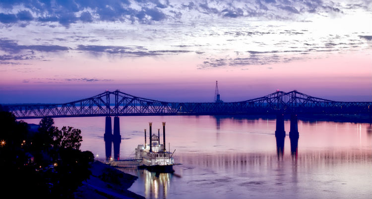 American Steamboat - Mississippi river