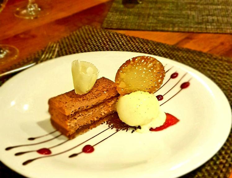 Dessert on-board AmaPrima