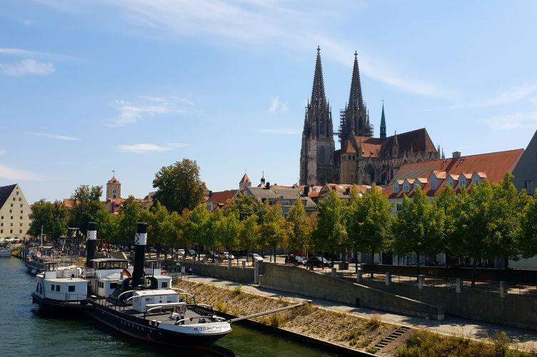 Regensburg - Danube river cruise