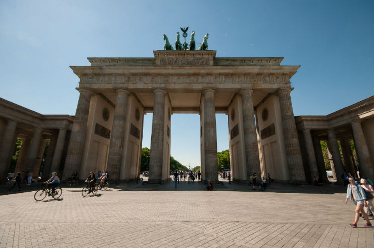 Holocaust Memorial - Brandenburg Gate - Berlin, Germany