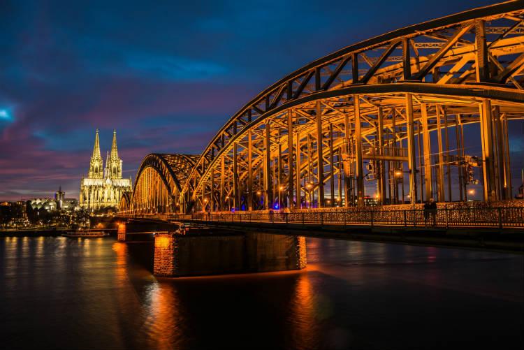 Rhine River - Cologne River