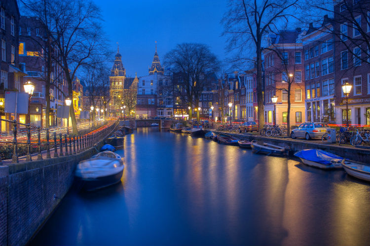 Amsterdam at night - Netherlands