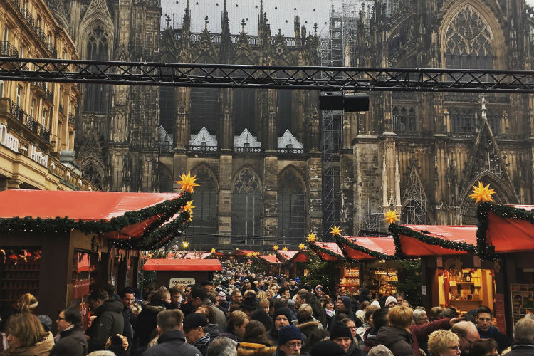 Christmas markets in Cologne, Germany