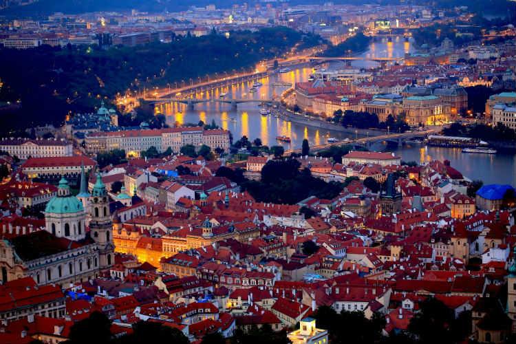 Danube River - Prague