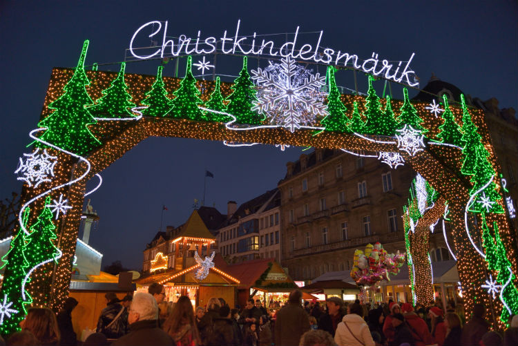 Christmas markets in Strasbourg, France