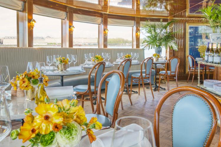 La Brasserie - Uniworld - SS Bon Voyage