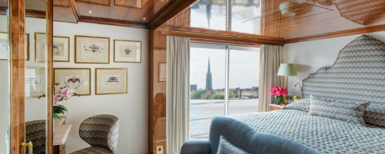 Suite aboard SS Bon Voyage - Uniworld