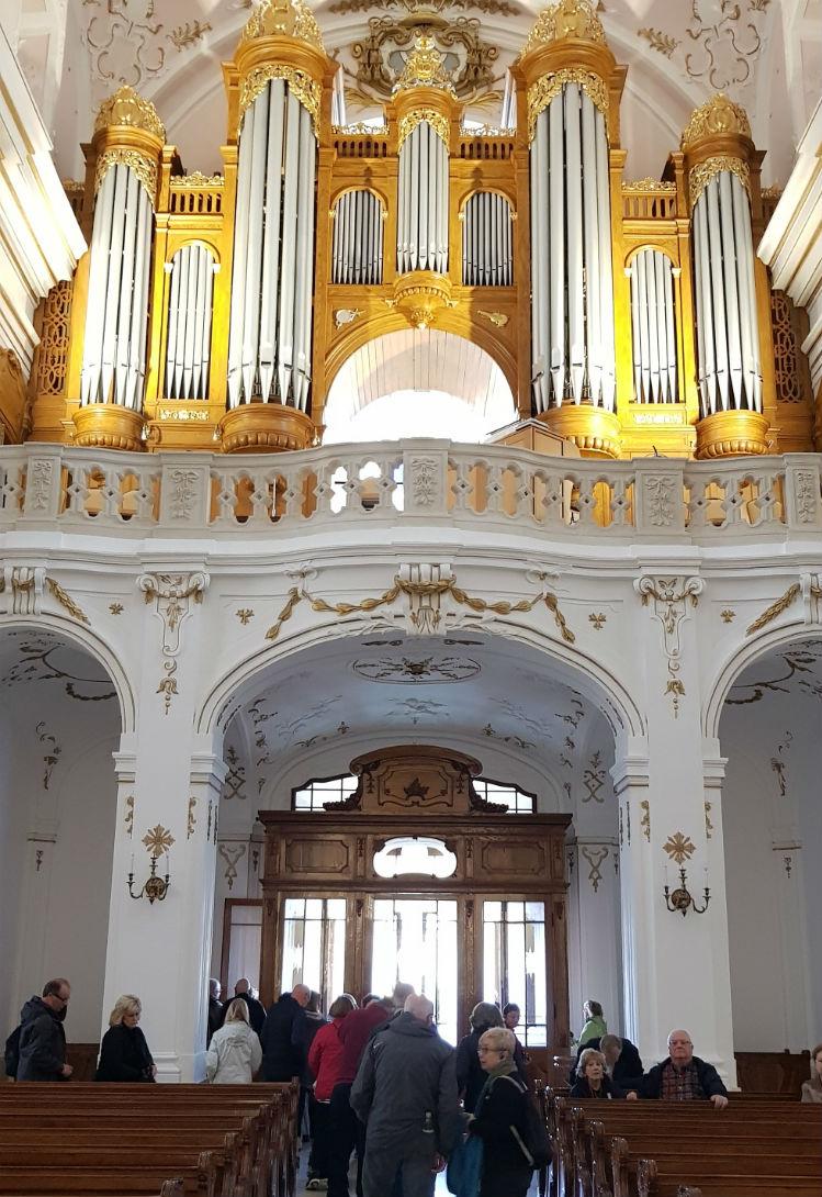 Church organ in Kalocsa