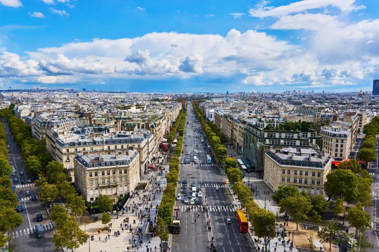 Champs-Elysees - Paris, France