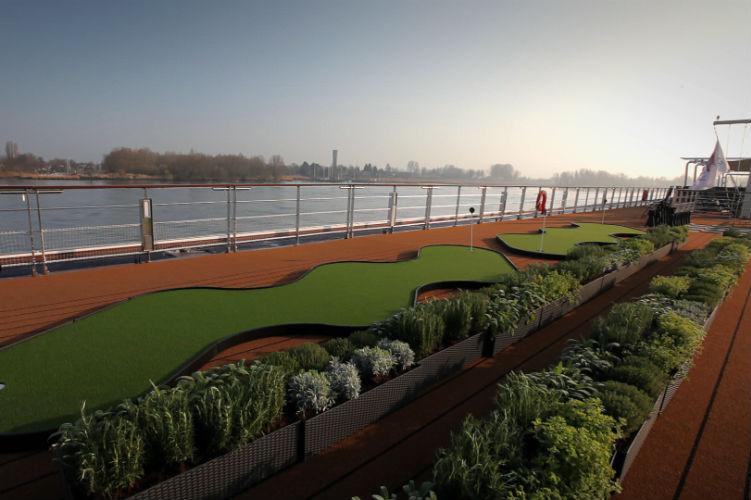 Herb garden - Viking river cruises