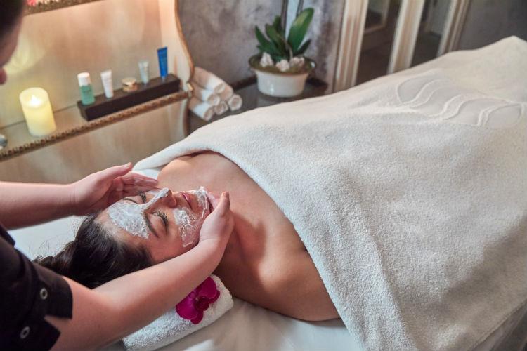 Woman having spa treatment - Uniworld River Cruises
