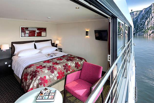 Avalon Impression - River cruise ship suite
