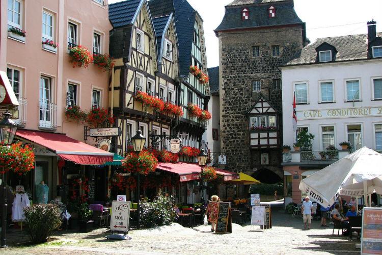 Architecture in Linz, Austria