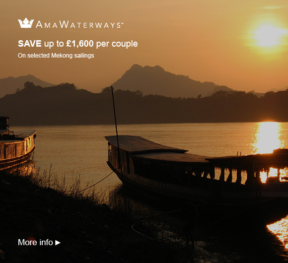 AmaWaterways savings on the Mekong