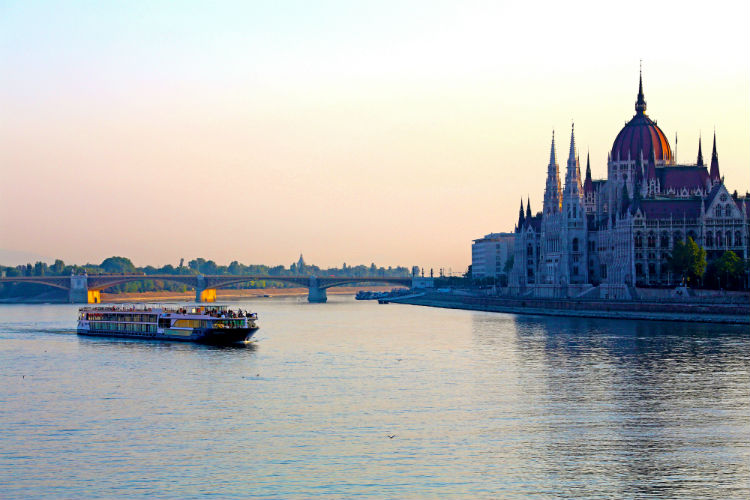 Avalon Waterways - ship on the Danube River