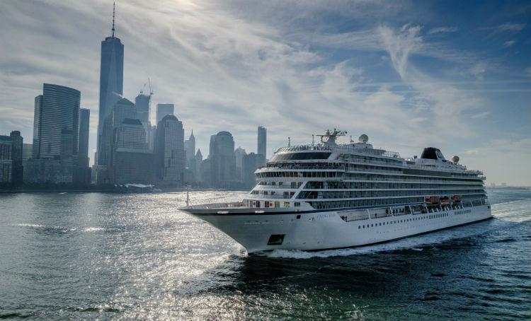 Viking Star - Sailing in New York