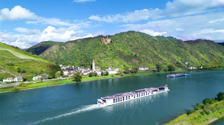 Crystal River cruises sailing in Europe