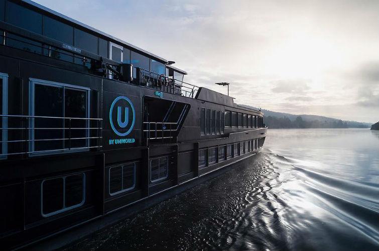 River cruise ship - U by Uniworld