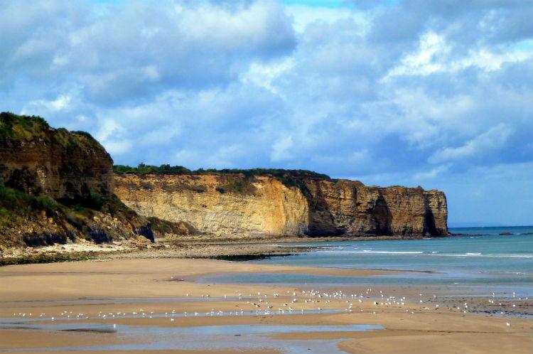 Landing beaches at Normandy