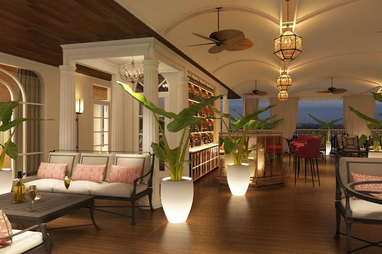 Outdoor bar - Mekong Jewel - Uniworld