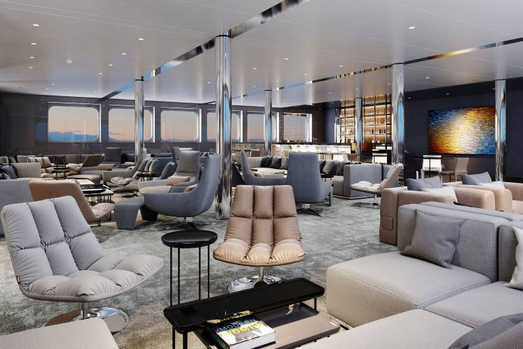 Horizon Bar Lounge - Emerald Yacht Cruises